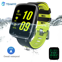 Teamyo GV68 смарт-браслет Водонепроницаемый IP68 Носимых устройств умный Браслет пульсометр фитнес-часы для iPhone Android
