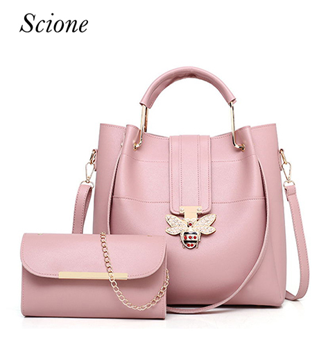 2018 purses and handbags diamond bee clasp women pu leather handbags bolsa feminin fashion handbag Shoulder Bags for women H033 сумка handbags for women pu versatile handbag