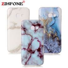 Phone Cases For for Samsung Galaxy A5 2017 A520 Case Marble Stone image Painted Cover Mobile Phone Bags & Case for A5 2017