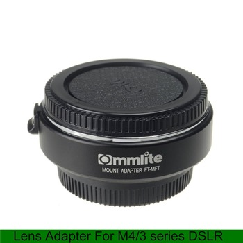 Commlite CM-FT-MFT Electronic Auto Focus Lens Mount Adapter Ring For Canon Olympus M4/3 Series DSLR' S Camera