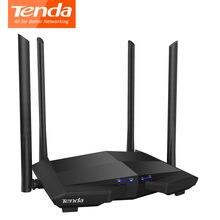 Tenda ac10 wireless wifi roteador de banda dupla 2.4g/5g wifi roteador 1000mbps gigabit repetidor sem fio 802.11ac controle remoto app