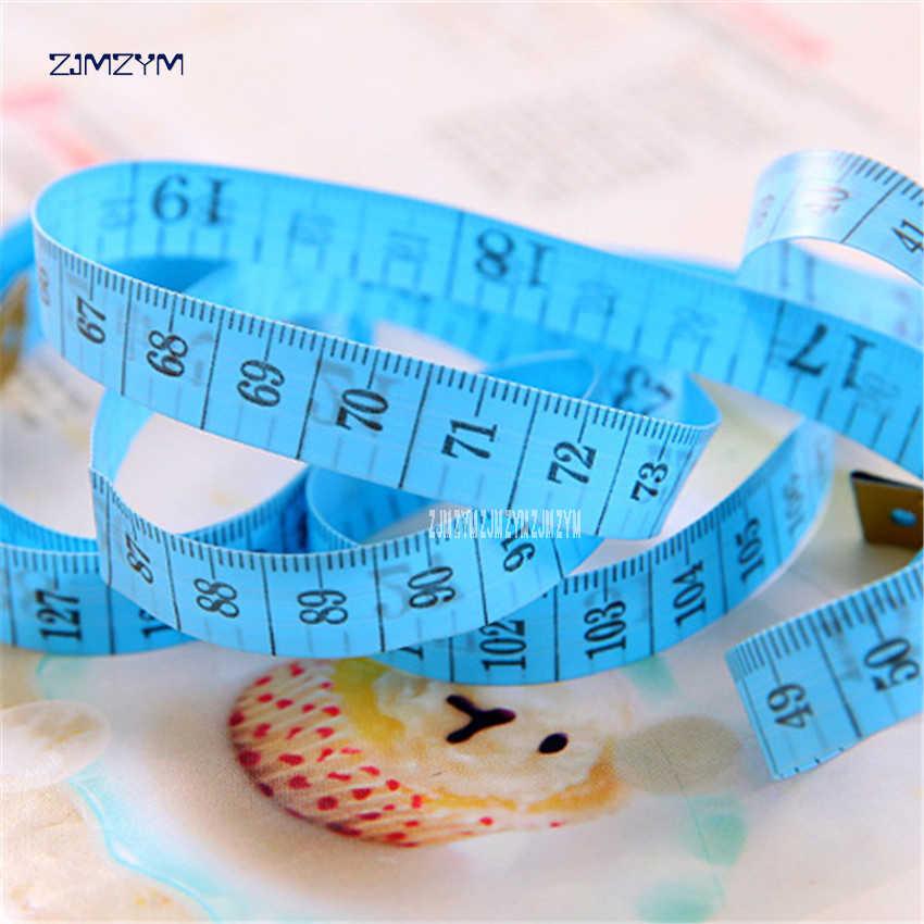Meilleur corps mesure règle couture tailleur ruban à mesurer doux 1.5 M * 1.1 CM couture règle mètre couture ruban à mesurer couleur aléatoire