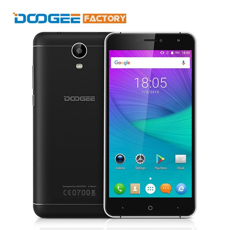 bilder für 6,0 ''doogee x7 3g smartphone android 6.0 mtk6580 quad-core-handy telefon 1 GB RAM 16 GB ROM 3700 mAh Schnellladung Dual SIM OTA GPS