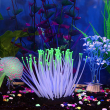 (Ship from US) ISHOWTIENDA Pretty Fish Tank Aquatic Plant Ornament Decor