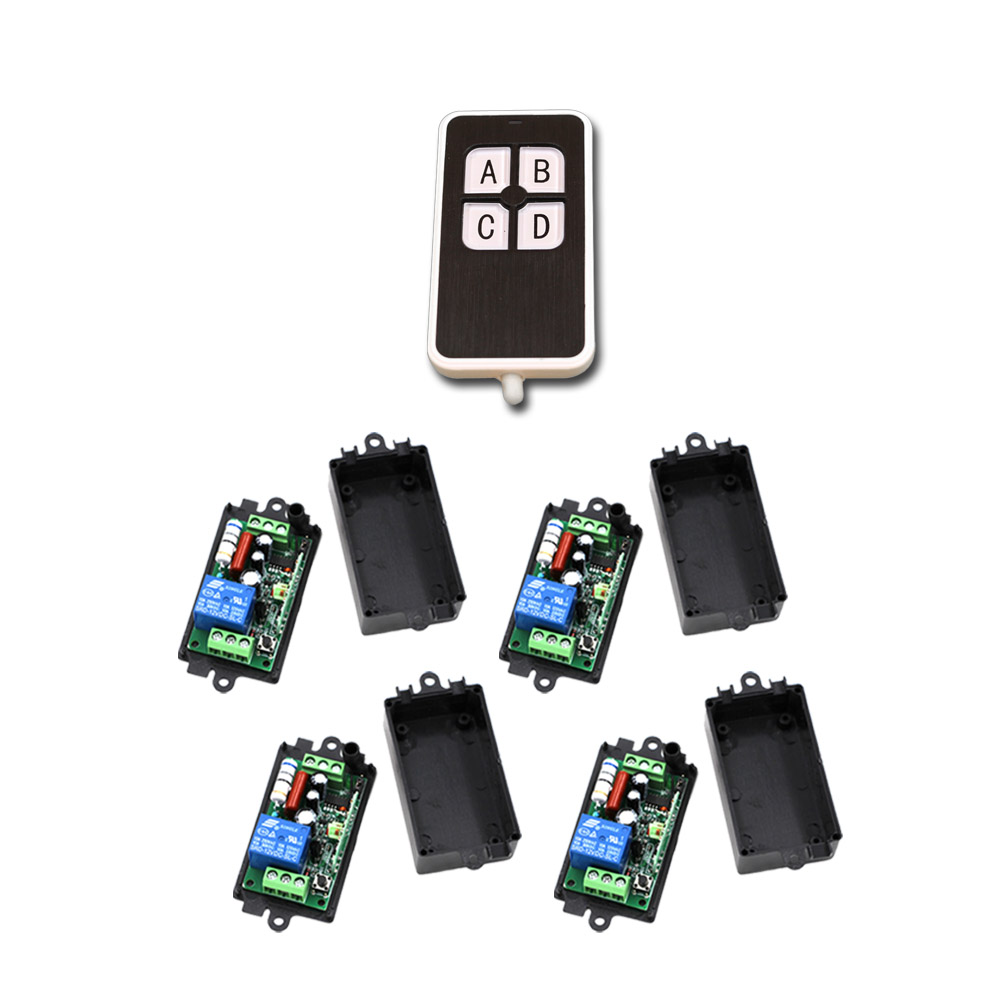 Easy to Take Wireless Remote Control Light Switch 220V Small Size 315/433mhz RF Remote Control 110V220V Can Be Customized