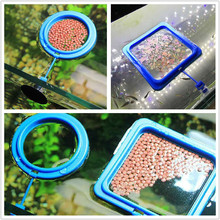 New Fish Tank feeding ring aquarium feeding ring feeder small fish tank floating feeding Accessory fish food floating circle least cost formulation in floating fish feeds