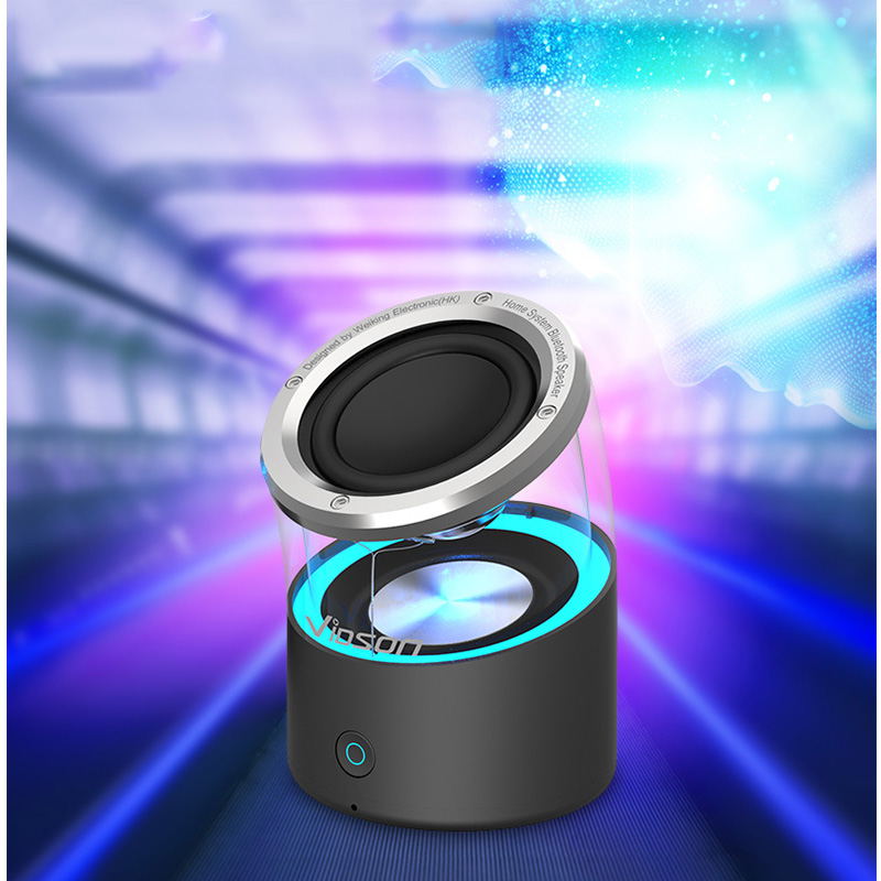 Tube Luminous Portable Bluetooth Speaker for iPhone (4)