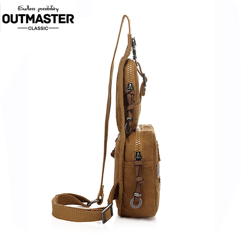 2017 Spring Fashion Men's Handbags Multifunctional Man Shoulder Bag Men Canvas Messenger Bags Casual Travel Military Bag
