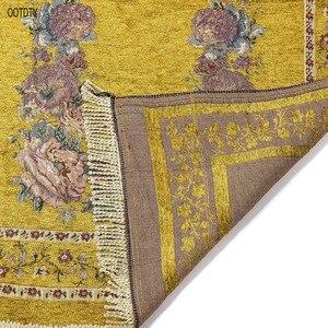 Image 5 - 70 × 110 センチメートルトルコイスラム教徒祈りラグマットヴィンテージ色の花ラマダンeidギフト装飾カーペットとタッセルトリム