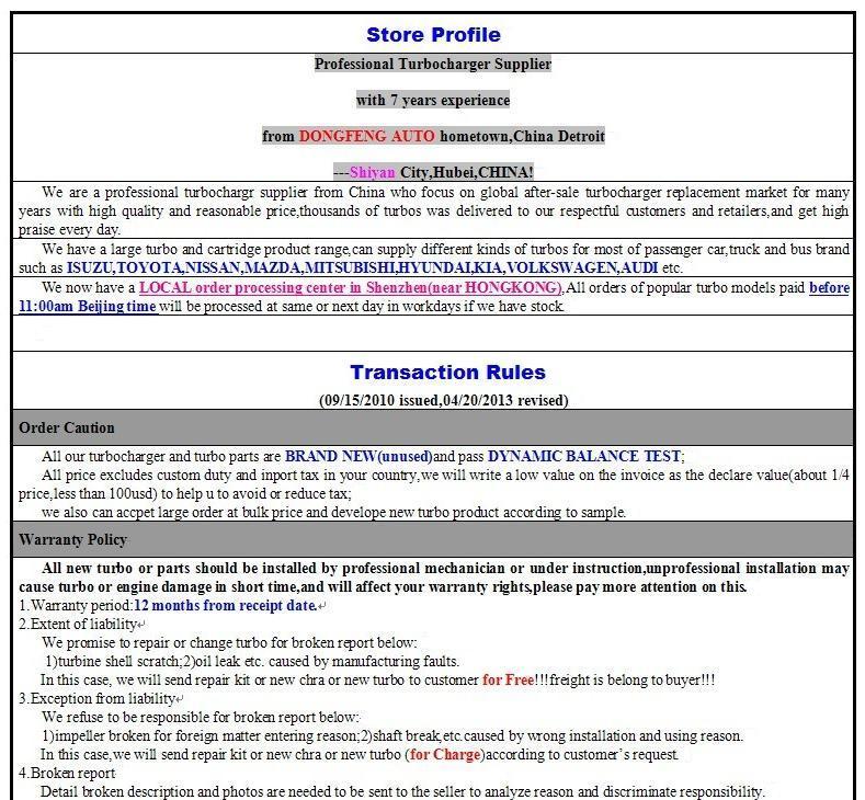 GT1749S/471037-0001 28230-41421 Турбокомпрессоры для Hyundai Могучий Грузовик, Chrorus автобус, d4ae, 3.3l 100hp