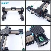 Линейного движения системы моторизованный робот линейный рельс/алюминия с ЧПУ низкая цена линейная направляющая