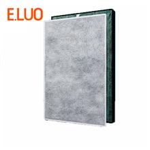 цена на 450*250*40mm HEPA filter + 450*250*3mm formaldehyde filters composite air purifier parts KC-C150SW KI-BB60-W KI-DX85 KI-BX85