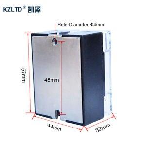 Image 5 - SSR 40LA Voltage Regulator Solid State 4 20MA to 28 280V AC Voltage Relay SSR 40A w/Cover relais KS1 40LA Quality Guarantee