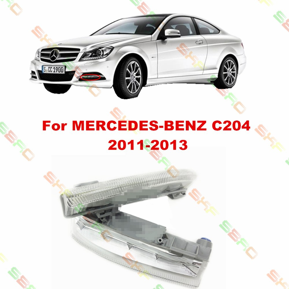 For MERCEDES-BENZ C-CLASS C204  2011/12/13  car styling fog light  led Daytime running lights  1 SET auto fuel filter 163 477 0201 163 477 0701 for mercedes benz