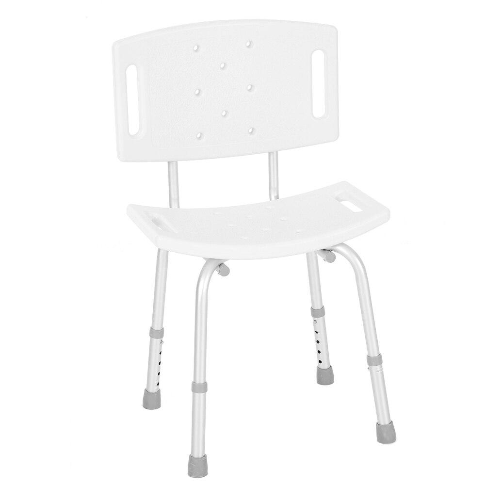 for Pregnant woman Patient Bathing Aids Medical Shower Chair Bathtub Bench Bath Seat Stool Detachable Backrest Adjustable Legs