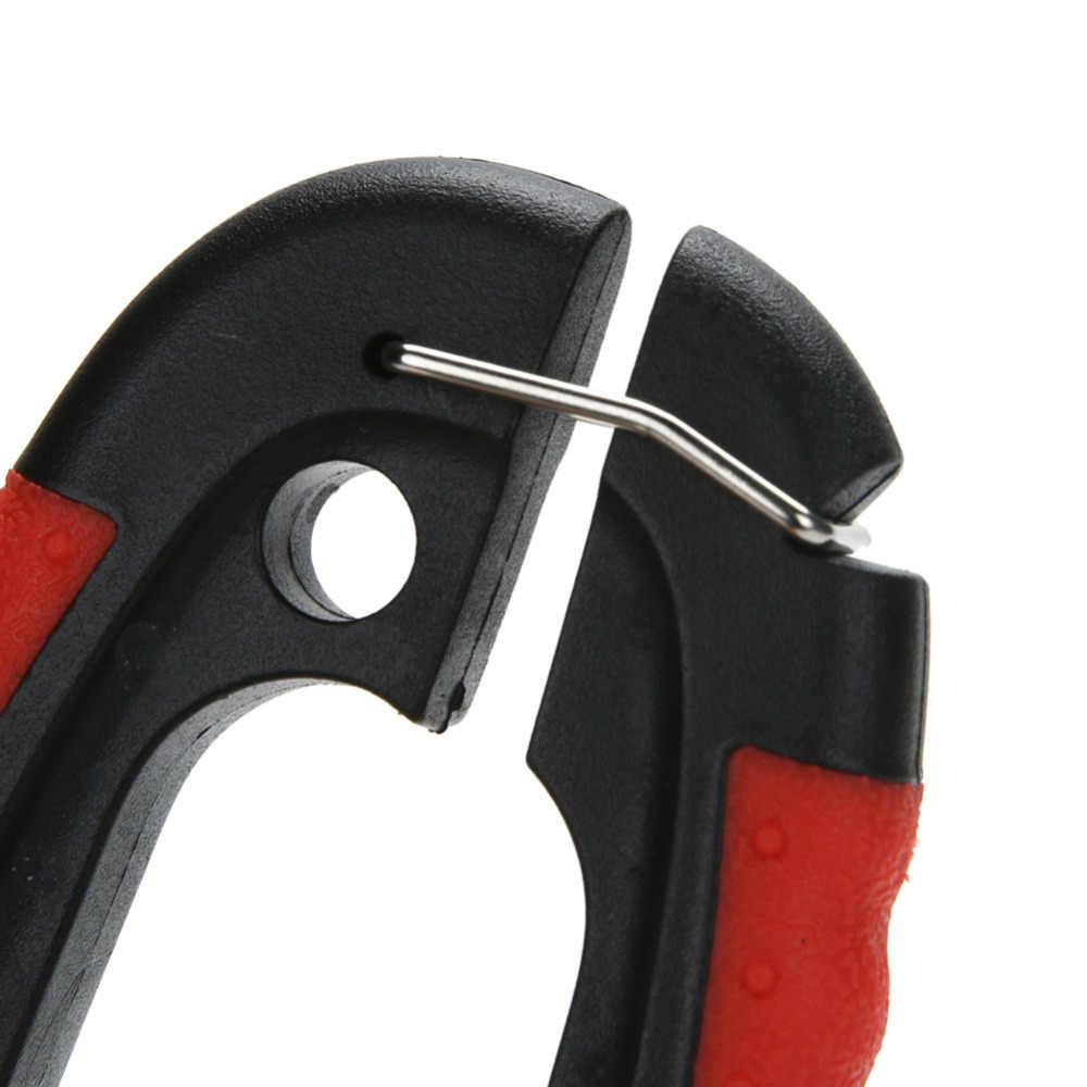 Profesjonalny obcinacz do paznokci obcinacz do paznokci nożyczki do pielęgnacji ze stali nierdzewnej Clippers dla zwierząt koty z zamkiem rozmiar S M