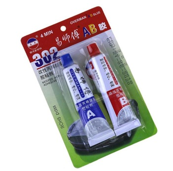 AB glue Crystal glass jewelry metal wood plastic rubber adhesive cyanoacrylate adhesive School Stationery