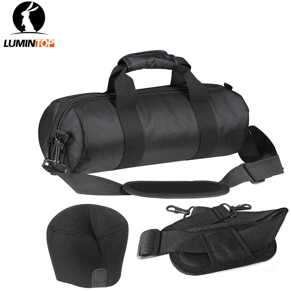 Big Flashlight Bag Kit Nylon Bag Shoulder Strap Len Cover for big Flashlight Lumintop BLF GT