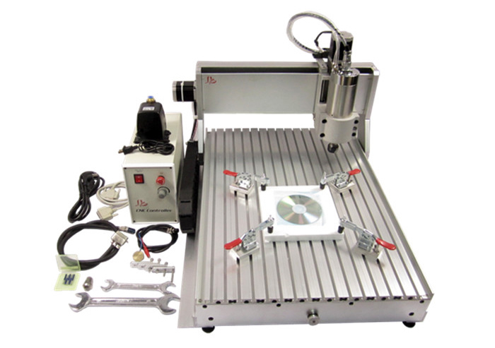 CNC 6040 Z-VFD 2.2KW water cooling spindle engraving milling machine wood carving router air cooling spindle mini ly 300w cnc router 6040 drilling and engraving machine for wood pcb ar and acrylic milling and cutting