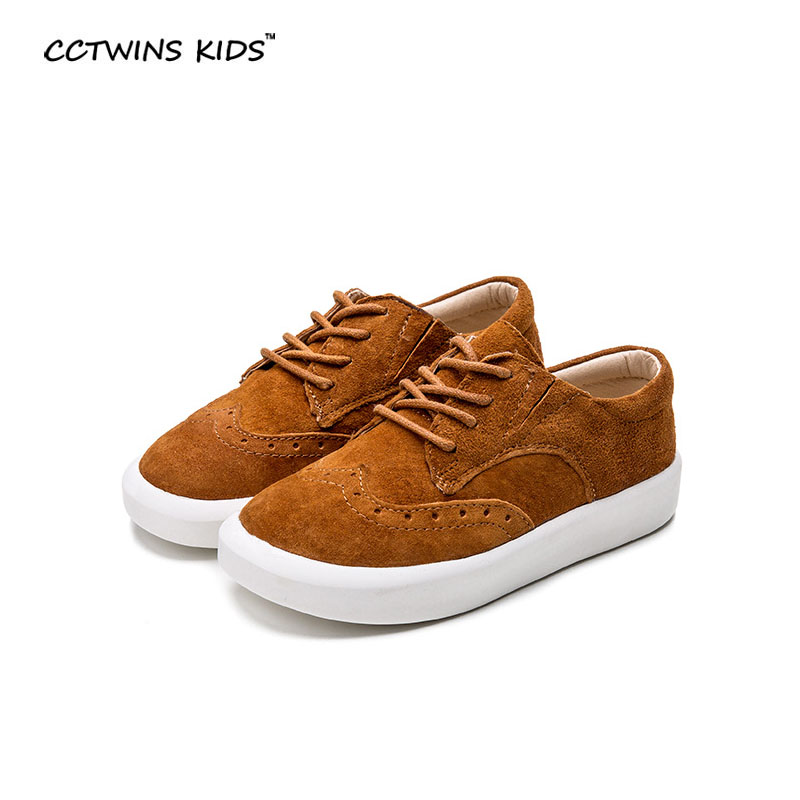 CCTWIN KIDS spring baby oxford shoe sneaker child genuine leather shoe boy brand shoe girl fashion