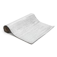 300x100cm 5mm Car Sound-proofing Deadening Insulation Foam Mat w/Aluminum Foil Silver
