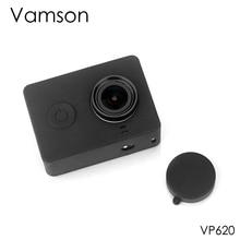 Vamson Per Xiaomi per Yi Accessori a prova di Polvere custodia protettiva In Silicone + Lens cap Per Xiaomi per Yi di Sport macchina Fotografica di azione di VP620