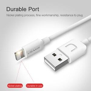 Image 4 - 10 Chiếc/Rất Nhiều Cáp USB Cho iPhone 8 usams 2A Nhanh Hơn Sạc Cáp Cho iPhone 7 Ngày Cáp USB Cáp Hỗ Trợ IOS 11 10 9
