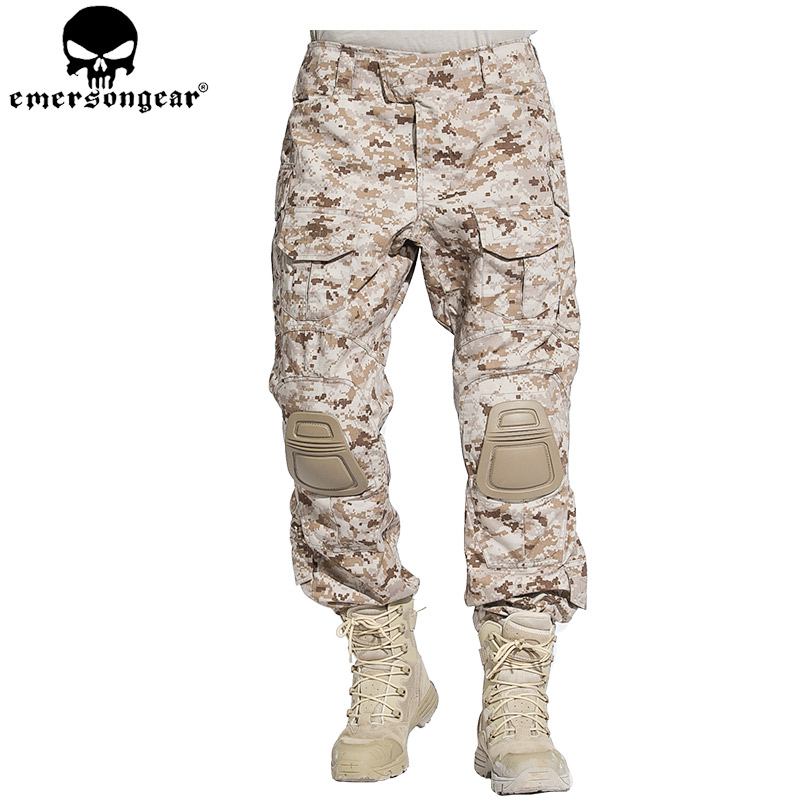EMERSONGEAR G3 Combat Pants Military BDU Army Airsoft Tactical Pants Paintball Hunting Trousers AOR1 EM7026 emerson g2 tactical pants with knee pads airsoft combat training military trousers bdu army airsoft paintball pants em8525