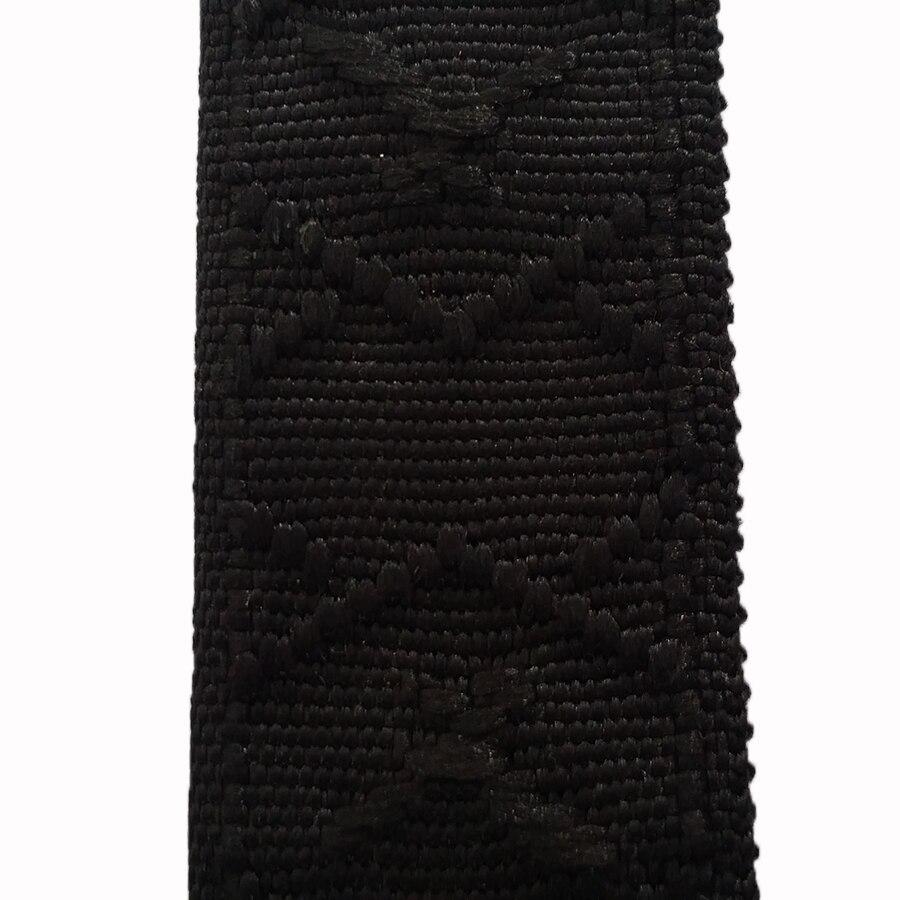 50 Yards 1 1//4 Inch Black Nylon Webbing Closeout