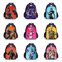 Hot Game Backpacks For Teenagers 3D Battle Royale Fortnit Boys Girls School Bags Cosplay Travel Bag Daily Backpack To Gifts