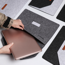 1PC Wool Felt Ultra Thin Laptop Sleeve Case Cover For MacBoo