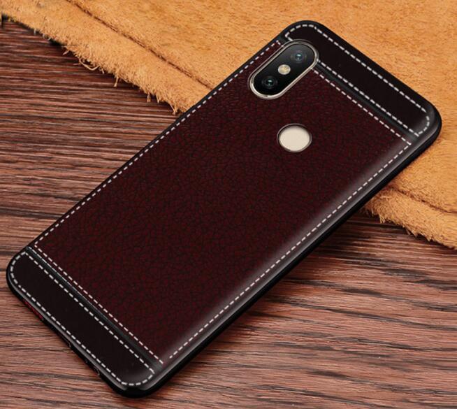 ZB602KL Case Ultra Thin Matte Leather Textured Soft TPU Case For ASUS Zenfone Max Pro M1 ZB602KL X00TD M2 ZB631KL ZB633KL
