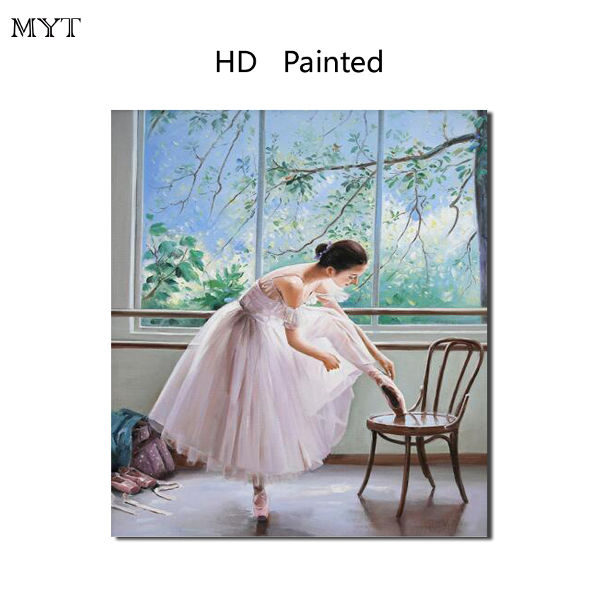Pop Ballet girl unique gift HD Printed Painting Home Decorater Art Picture For bed room living room No Framed or Diy Framed