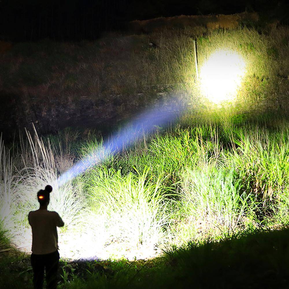Le 20 DEL Tête Torche Powered Headlamp Pour Camping Running Randonnée et lecture,