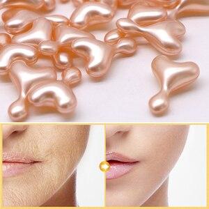 Image 2 - Efero cápsula de ácido hialurónico, esencia de colágeno dorado para crema facial, suero antiarrugas, crema blanqueadora facial antienvejecimiento, 8 Uds.