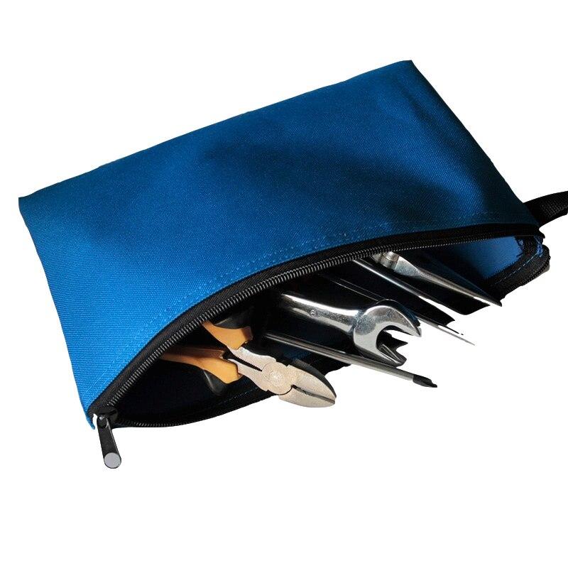 Werkzeugtaschen Humorvoll Hoomall Zipper Lagerung Instrument Fall Wasserdichte Organizer Kleine Werkzeug Tasche Multi-farben 600d Oxford Tuch Werkzeug Taschen Hand Werkzeug Noch Nicht VulgäR Werkzeuge
