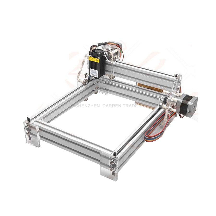 1 pièces 1.5 W bricolage mini laser gravure machine1500mW Bureau bricolage Graveur Laser Machine de Gravure Photo CNC Imprimante