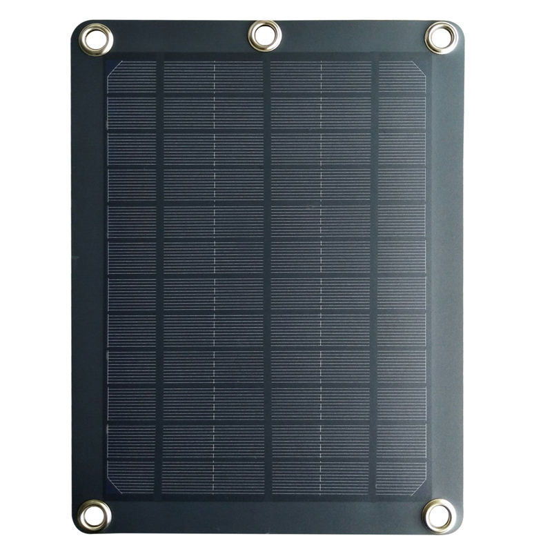 5W 6W 3mm PET Portable Monocrystalline Solar Panels Charger 5V USB for Backpack/Mobile/Computer/Charging Board