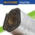 "120CM x 100CM Automotive Car Heat Reflective Sound Shield Deadener Insulation Control Noise Mat Proof Pad Deadening 48"" x 40"""