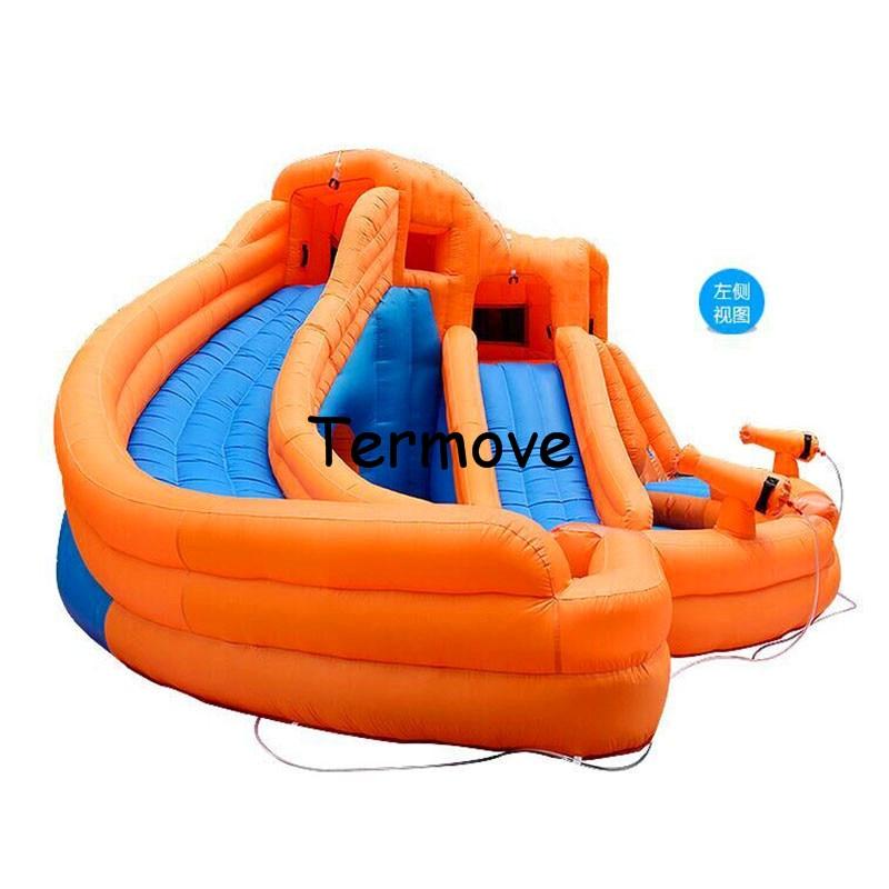 inflatable bouncer slide for kids Indoor Playgrounds Toy inflatable Slides indoor playgrounds swimming pool slide Trampoline free sea shipping inflatable slide jumper combo bouncer obstacle course