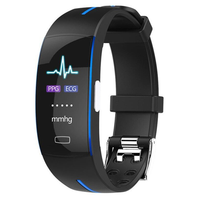 <font><b>P3</b></font> Bluetooth <font><b>smart</b></font> <font><b>watch</b></font> blood pressure real-time heart rate monitoring ECG+PPG ECG IP67 waterproof sports <font><b>smart</b></font> bracelet image