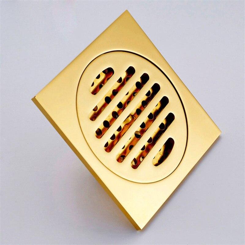 Drain de sol toilette machine à laver déodorant drain de sol noyau salle de bains eau filtre en acier inoxydable trois drain de sol