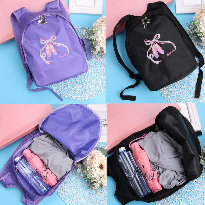 10040429-02. Features  Little girls ballet backpack for kids dance and  sports. d85671fa9da1a
