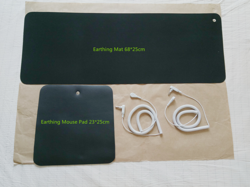 Earthing Universal Mat Conductive Kit  Grounding Mats 68*25cm Conductive  Mouse pad 25*23cm  On Sale! 1china earthing fitted sheet 198x203cm silver antimicrobial fabric conductive fabric new health grounding line mattress cover