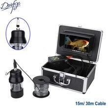 "Skilled 30m HD 1000TVL Underwater Fishing Video Digicam 7"" Display Waterproof 22 LEDs 360 Diploma Rotating Digicam Fish Finder"