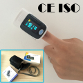 with pouch  5 Colors Finger pulse oximeter SPO2 PR monitor O LED 6 Display Modes Blood Oxygen Monitor Ossimetro oxymetre