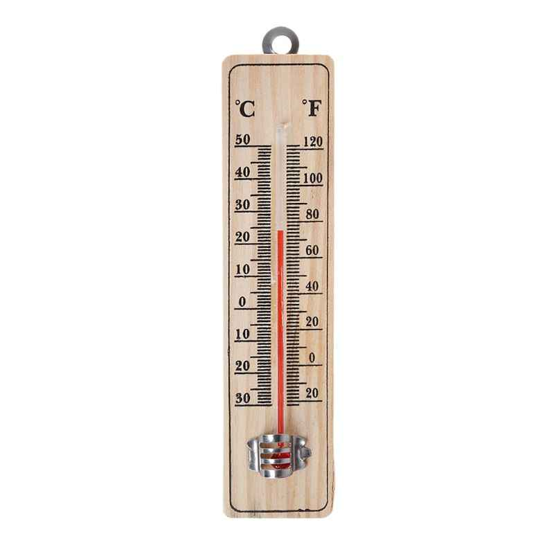 Wall Hang Thermometer Indoor Outdoor Garden House Garage Office Room Hung Logger