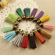 Wholesale 38mm Mixed Color Suede Leather