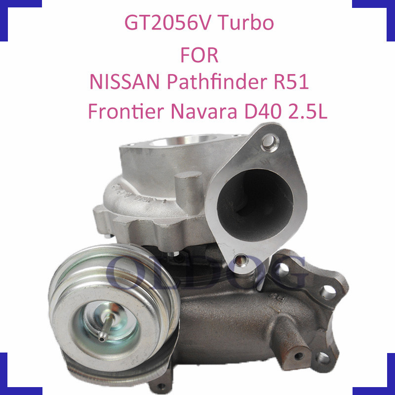 Supercharger turbo charger parts GTA2056LV 769708 767720 for NISSAN Navara Frontier Pathfinder YD25DDTi engine 2 5L