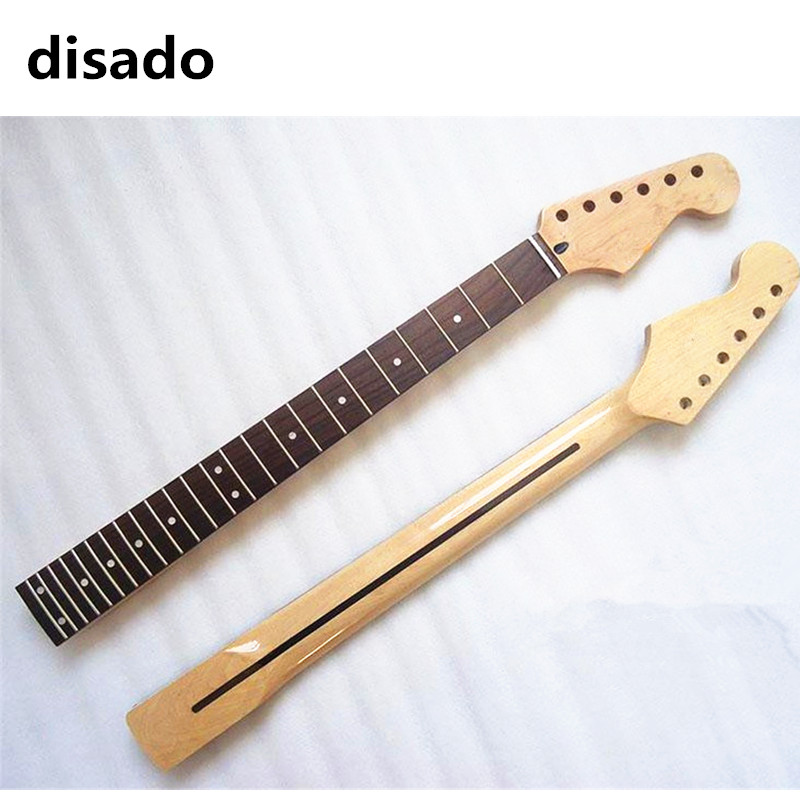 disado 24 frets electric guitar neck rosewood fingerboard guitar accessories parts musical. Black Bedroom Furniture Sets. Home Design Ideas